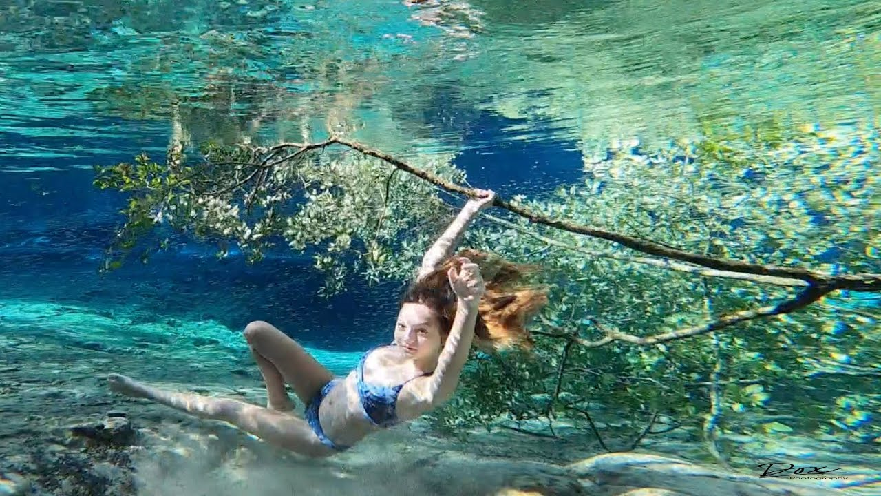 Underwater: Sabrina at Ginnie Springs Swimsuit 4 of 5