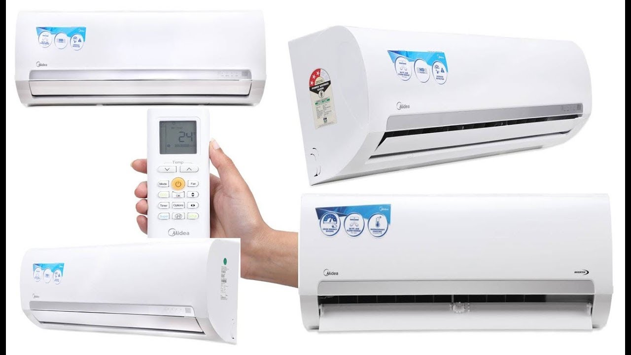Budget Midea Air Conditioners 3 Star Split Inverter Ac
