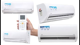 Best Budget Midea Air Conditioners 3-Star Split & Inverter AC - Midea AC 2018 Price in India