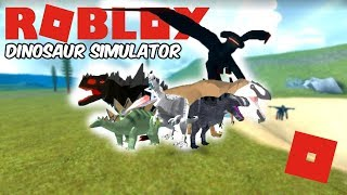 Roblox Dinosaur Simulator - The Big Remodel Update! (MY FAVORITE UPDATE SO FAR!)
