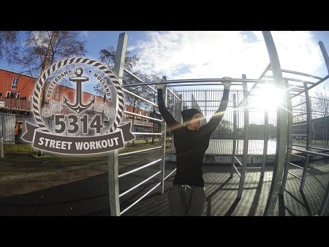 5314 Streetworkout Rotterdam, the Netherlands - (cinematic)