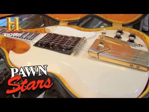 pawn stars: gibson les paul sg custom | history