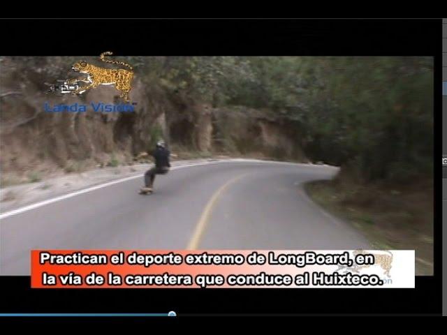 Practican el Deporte extremo del LongBoard en Taxco