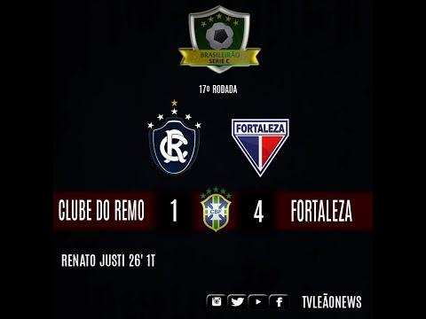 Série C - Fortaleza 4 x 1 Clube do Remo - Jogo Completo