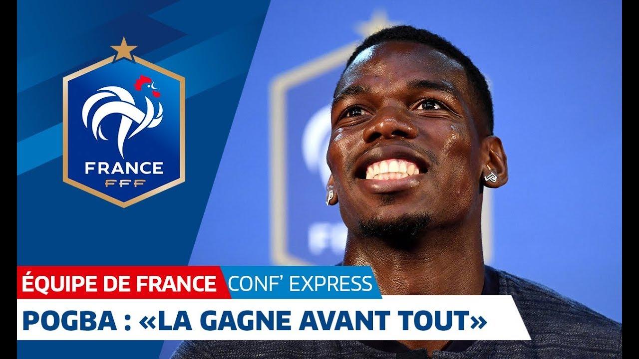 """Équipe de France, Pogba :""""La gagne avant tout"""" I FFF 2018"""