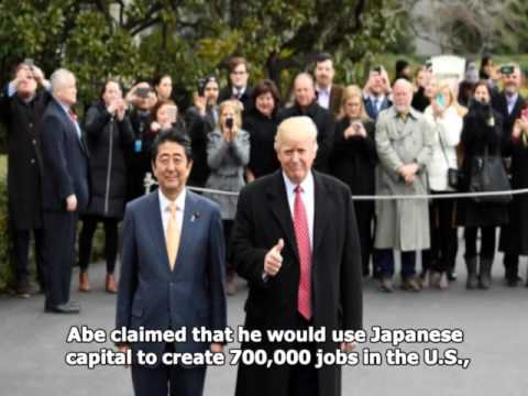 "Japanese politicians criticize Abe's ""tribute diplomacy"" with Trump"