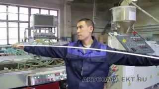 видео Натяжные потолки в Европе изготавливаются по европейскому качеству
