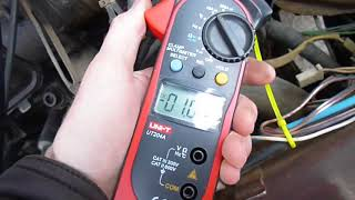 Каким током идет зарядка автомобильного аккумулятора от генератора