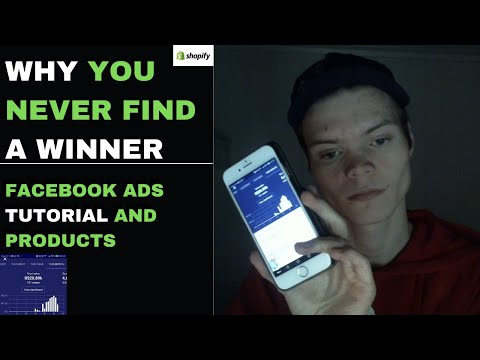 Why You NEVER Find Winning Products - Shopify Dropshipping Tutorial thumbnail