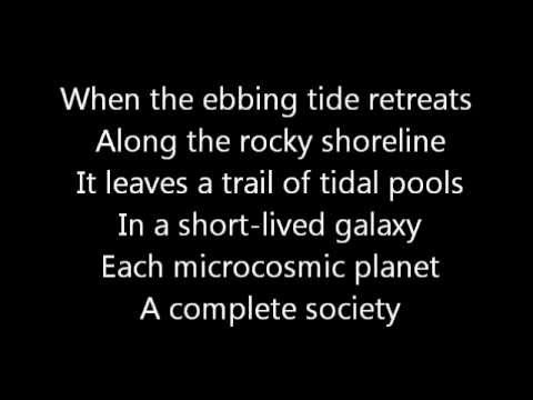 Rush-Natural Science (Lyrics)