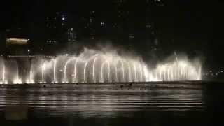 The Dubai Burj Khalafi water dance-Ezel