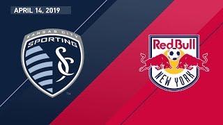 Sporting Kansas City vs. New York Red Bulls | HIGHLIGHTS - April 14, 2019