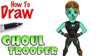 How to Draw the Ghoul Trooper | Fortnite