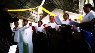 Lagu paska,#pakayan adat manggarai#musik ala manggarai#kreatif orang tua#KBG Ratu Damai#