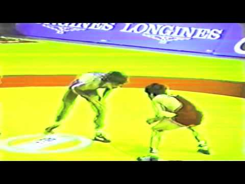 1989 Senior World Championships: 52 kg Constantin Corduneanu (ROU) vs. Metin Topaktas (TUR)