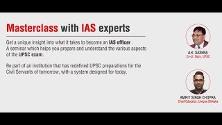 Masterclass with IAS experts