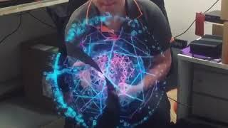 видео Hypervsn by Kino-mo - это Голографическая реклама в воздухе