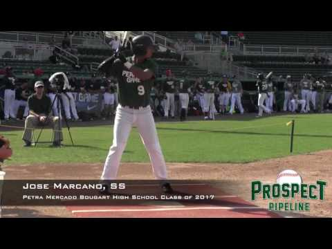 Jose Marcano Prospect Video, SS, Petra Mercado Bougart high school class of 2017