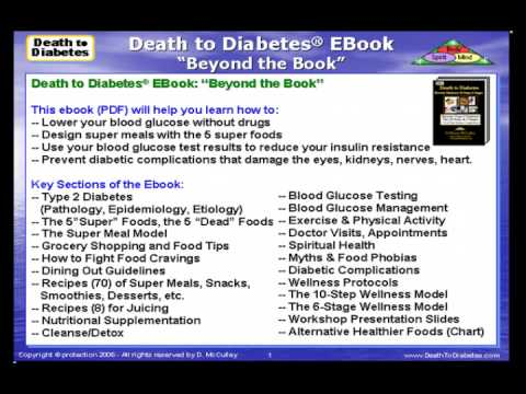 Reverse Diabetes Ebook PDF: Beat & Reverse Type 2 Diabetes
