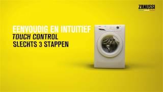 Zanussi - Uw wasmachine instellen? EASY.