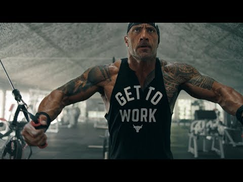 Dwayne Johnson: All Day Hustle. Project Rock  Under Armour Campaign