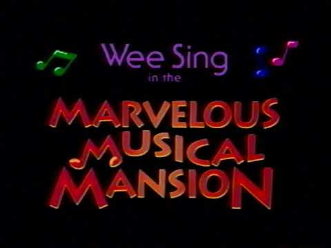 Opening to Wee Sing in the Marvelous Musical Mansion 1992 VHS [True HQ]