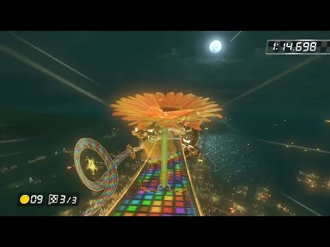 Mario Kart 8 - World Records for all 32 Tracks (Mario Kart 8 Time Trial Courses WR)