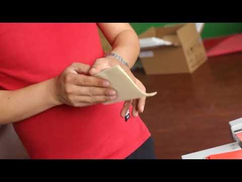 DC 200L manual paper folding machine