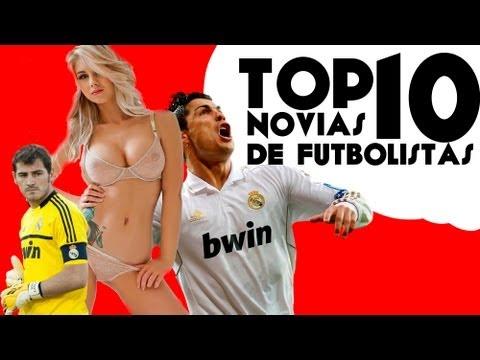 Top 5 novias de los futbolistas