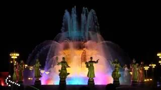 Световое шоу дронов на 80-летии ВДНХ (Москва, 3 августа 2019 г.)