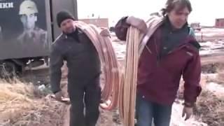 Стеклопластиковая арматура плюсы транспортировки(, 2013-09-04T08:48:41.000Z)