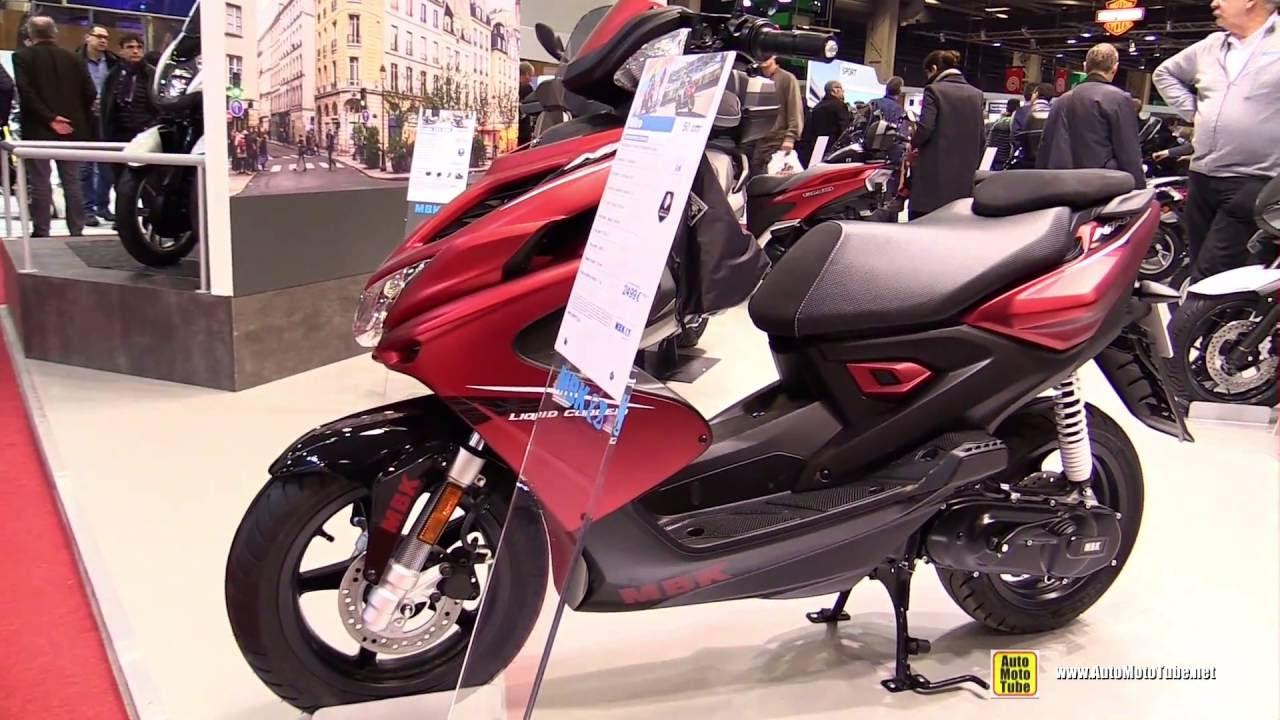 2016 mbk nitro 50cc scooter walkaround 2015 salon de la moto paris youtube. Black Bedroom Furniture Sets. Home Design Ideas