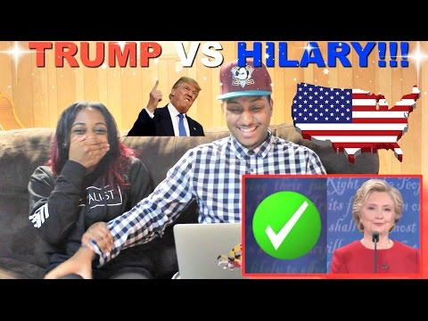 "Thumbnail: ""DEBATE NIGHT!"" A Bad Lip Reading of 2016 Presidential Debate By Bad Lip Reading REACTION!!"
