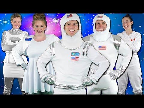 Astronauts! Children's Song - Kids Space Adventure   Bounce Patrol
