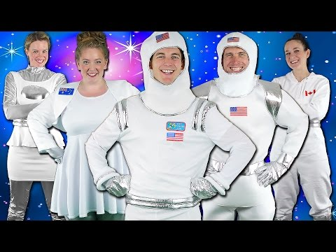 Astronauts! Children's Song - Kids Space Adventure | Bounce Patrol