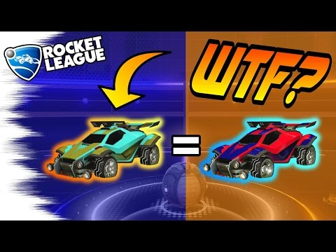 CAMO in ROCKET LEAGUE?! - Funny Advanced Tips,Tricks, & Secrets (Rocket League Glitch?)