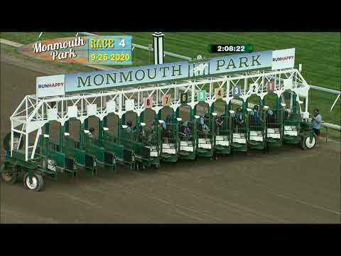 video thumbnail for MONMOUTH PARK 09-26-20 RACE 4