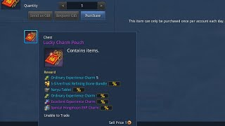 Blade & Soul NA Lucky Charm Pouches
