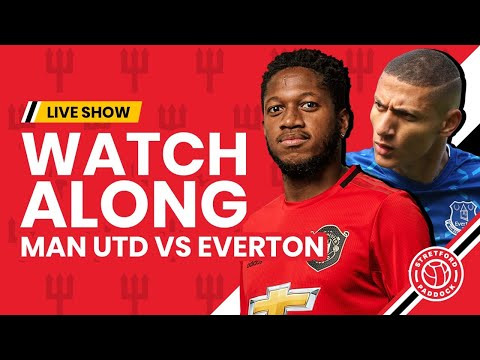 Manchester United 1 1 Everton Watchalong With Stretford Paddock Youtube