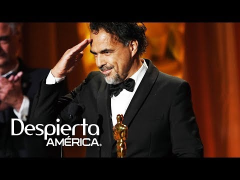 Alejandro González Iñárritu recibe un Oscar por documental sobre inmigración