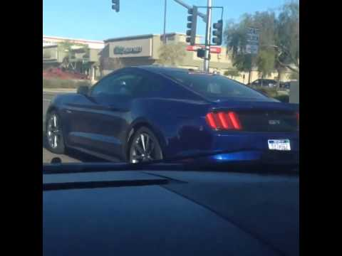 deep impact blue 2015 mustang spotted - Ford Mustang 2015 Blue