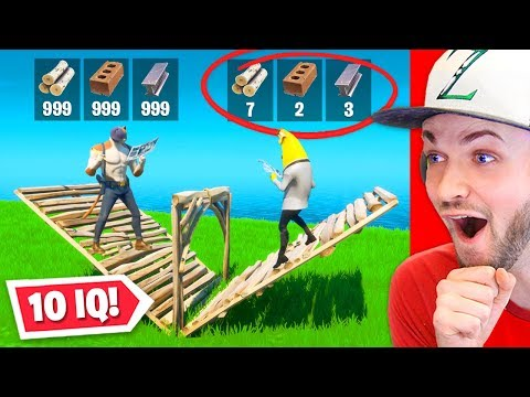 Reacting to 10 IQ PLAYS in FORTNITE!