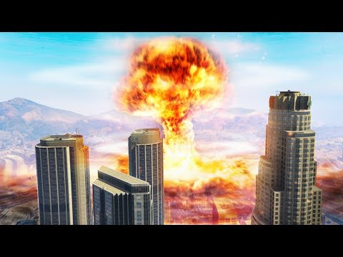 WORLD'S BIGGEST NUCLEAR BOMB! (GTA 5 Doomsday Heists DLC)