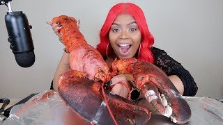 GIANT 15LB LOBSTER MUKBANG!!!!