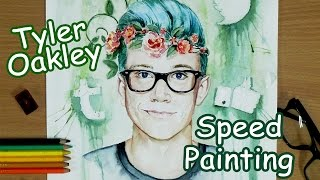 [speed painting] Tyler Oakley