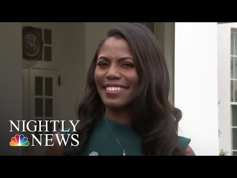 Omarosa Manigault In New Memoir Claims President Trump Is 'Racist,' Used NWord  NBC Nightly News