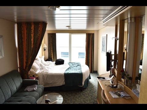 Tour of cabin 7246 Superior Ocean View Stateroom  Independence of the Seas - Royal Caribbean