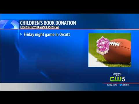 Bring A Children's Book, Get A Discount On Righetti High Football Game Ticket