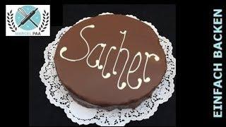 Original Sacher Torte Zum Selber Machen - Von Einfachbacken