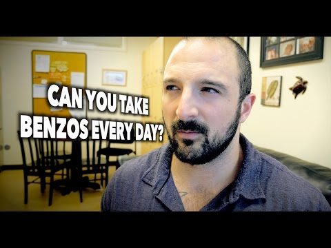 CAN YOU TAKE PRESCRIBED BENZODIAZEPINES Every Day? (For Depression & Anxiety)